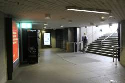 Collins Street entrance to Parliament Station