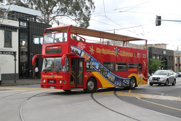 City Sightseeing Melbourne bus 8514AO at Park and Clarendon Street in South Melbourne