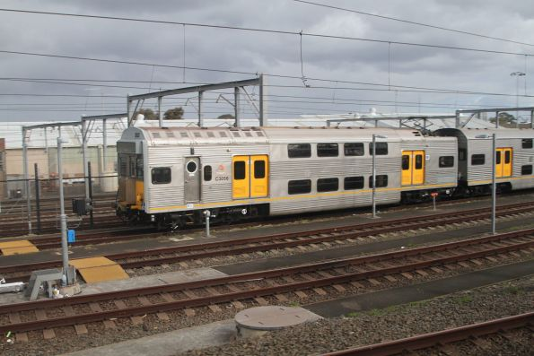 Set S102 stabled at the Macdonaldtown sidings