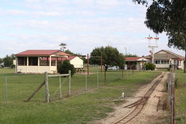 Clarkeville Miniature Railway, located outside Bairnsdale