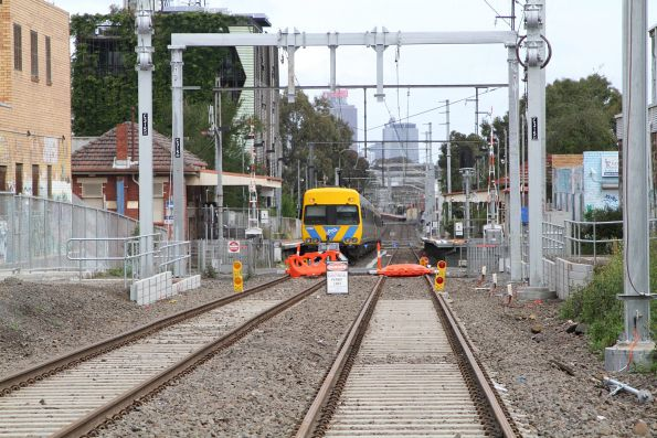 Bell to Moreland level crossing removal