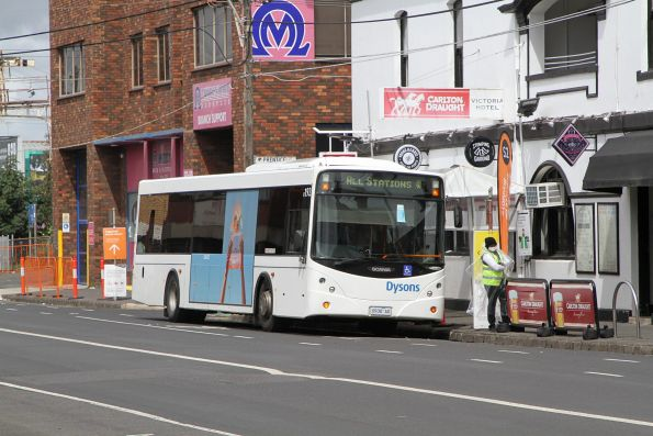 Bell to Moreland level crossing removal replacement buses