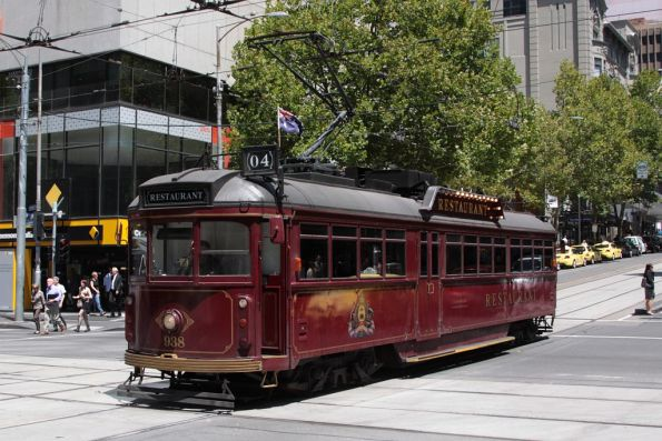 SW6.938 eastbound at Bourke and Elizabeth Streets