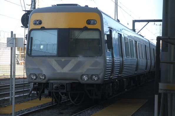 Alstom Comeng 623M undergoing life extension upgrades at Macaulay