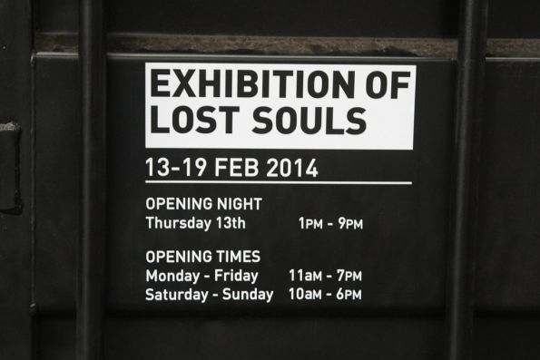 'Exhibition of Lost Souls' to promote the film 'Wolf Creek 2'