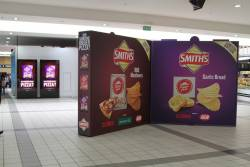 'Smith Chips' promotion at Flinders Street Station