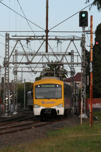 Siemens 790M on a down Broadmeadows service at Essendon