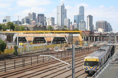 Works at North Melbourne Station