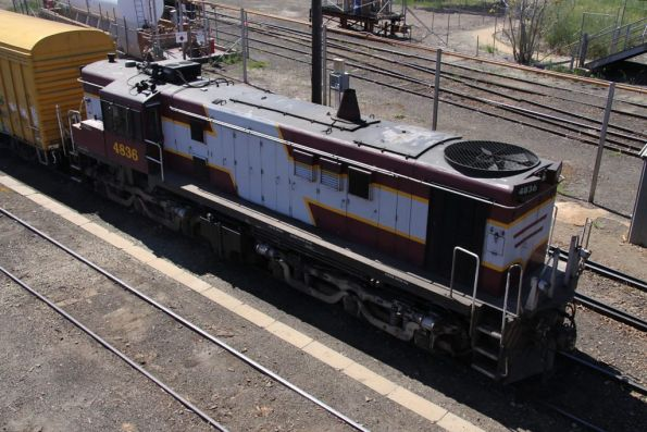 4836 stabled in Cootamundra yard