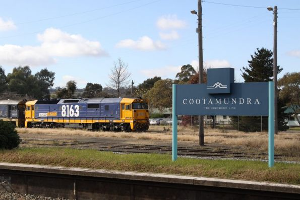 8163 stabled at Cootamundra