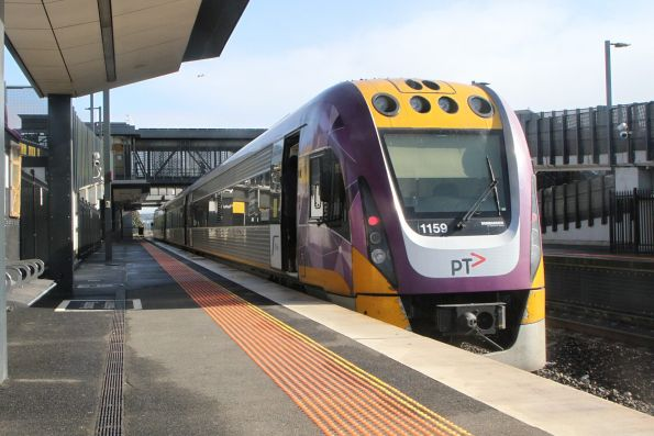 V/Line conductors now use an electronic whistle to indicate 'all clear'