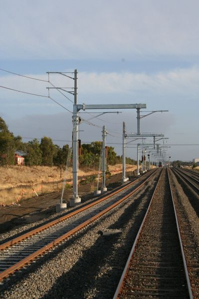 Craigieburn electrification project and train maintenance depot