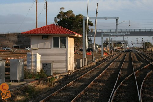 Last days for the signal box at Somerton