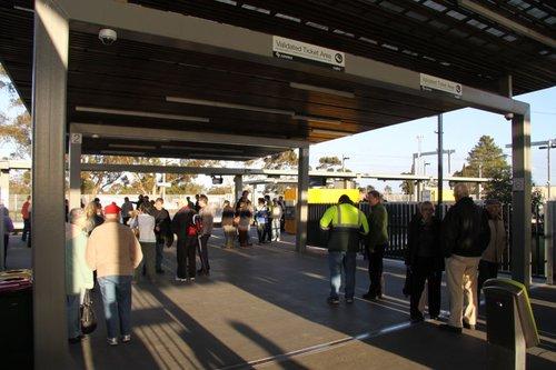 Main entry to the platform at Craigieburn station