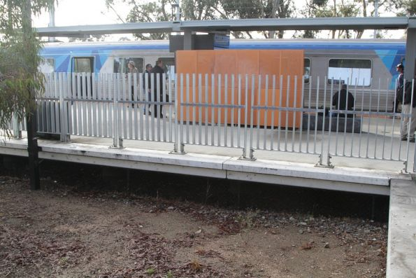 Face of future platform 3 at Craigieburn