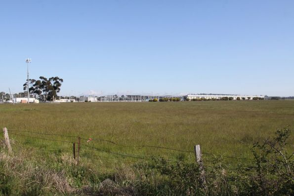 Overview of the entire yard from the east side, on Craigieburn-Epping Road
