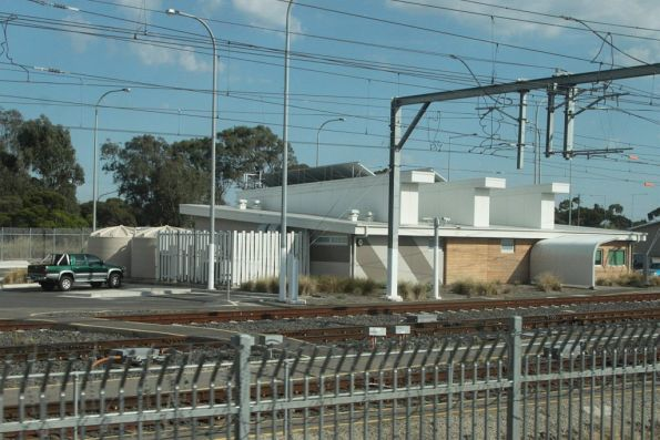Train crew depot at Craigieburn Yard