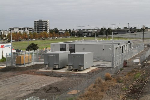 New signal control centre at Dandenong station