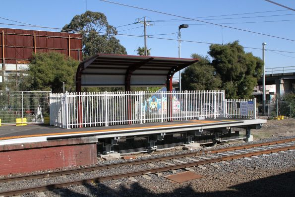Extension at the city end of Oakleigh platform 1