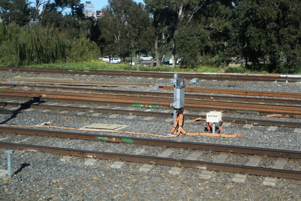 New track circuits and impedance bonds at Richmond Junction