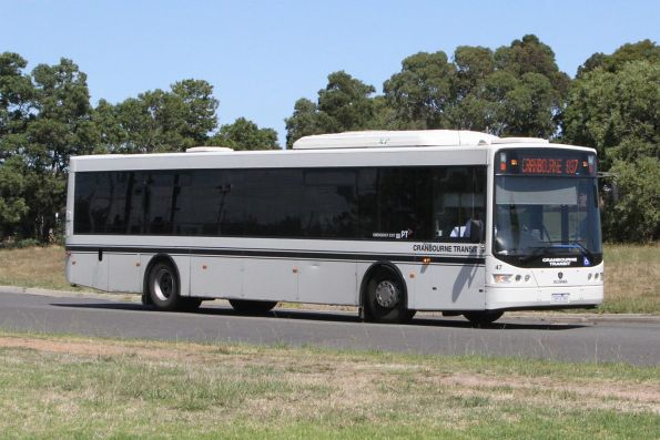 Cranbourne Transit #47 7473AO on a route 897 service departing Cranbourne station