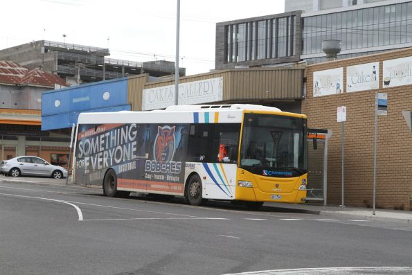 Cranbourne Transit bus #5 3211AO at Dandenong station