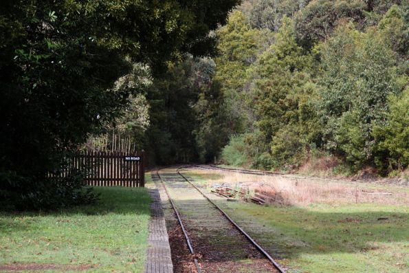 End of the line at Bullarto