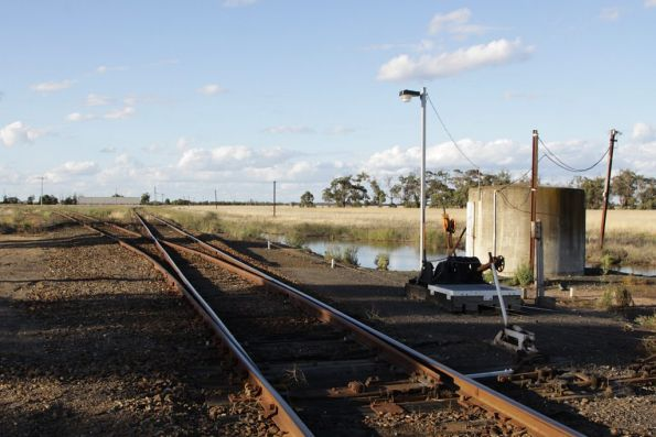Deniliquin line signalling and infrastructure