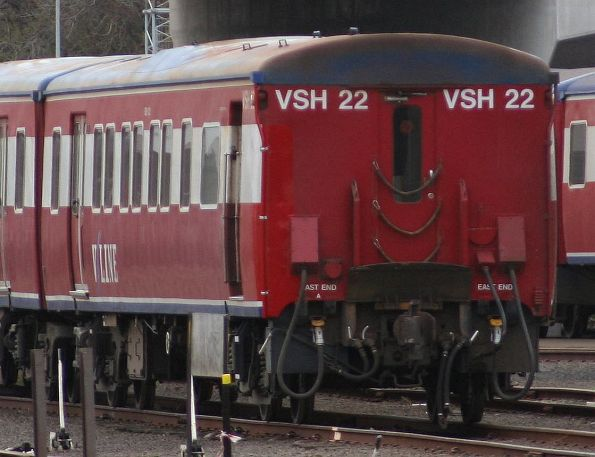 VSH22 (BCH122) after repairs