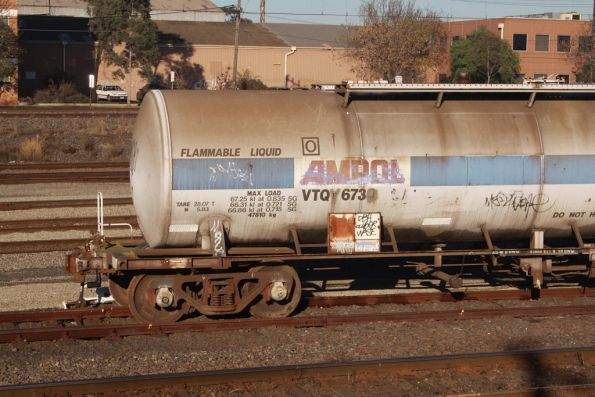 Oil tank VTQF 673J derailed at Tottenham Yard after vandals released the hand brake