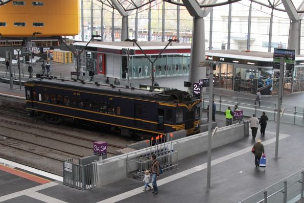 Looking down on RM58 at Southern Cross
