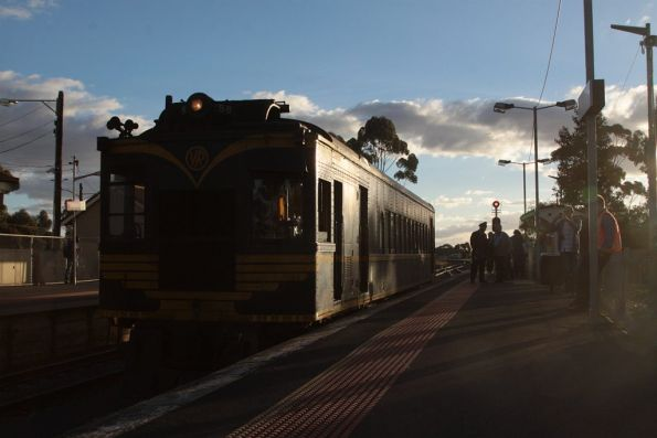 Waiting at Melton platform 2 to cross a down pass