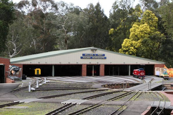 12 road engine shed