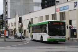 Dysons bus #704 rego 8027AO departs Queen Victoria Market on a route 546 service to Heidelberg