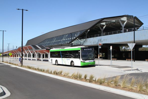 Dysons bus #1033 BS03CK on route 381 at Mernda station