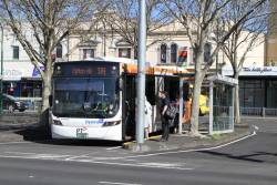 Dysons bus BS01QV on route 504 at Moonee Ponds Junction
