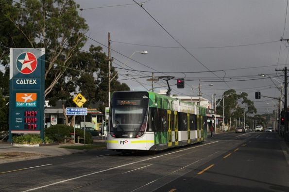 E.6004 at the corner of Maribyrnong and Epsom Road in Ascot Vale
