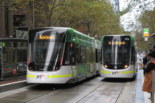 E class tram testing and first day