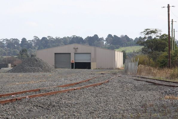 Shed and sidings for the Gippsland Intermodal Freight Terminal