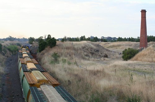 El Zorro grain outside Lethbridge passing the old quarry