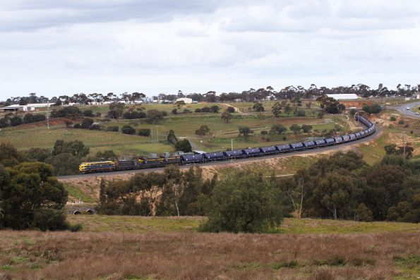 Dropping downgrade through the Parwan Curves towards Bacchus Marsh