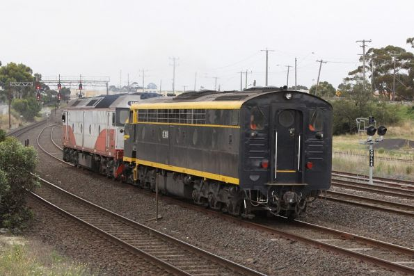S303 leading hostlers end first bound for North Geelong C