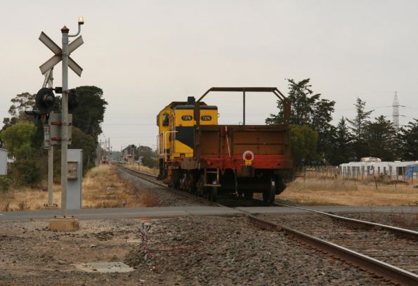El Zorro wagon transfer from Warrnambool, December 2008