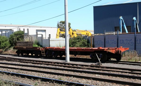 A few weeks later, and the two wagons lay abandoned at Brooklyn in Melbourne's west