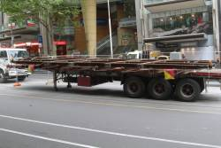 New 'H' crossing delivered to the corner of Bourke and Elizabeth Streets