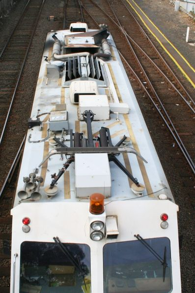 IEV100 track evaluation vehicle