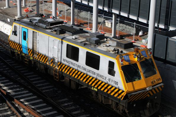 Roof view of IEV100 at West Footscray