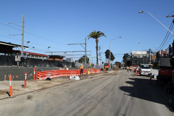 Buckley Street level crossing removal project