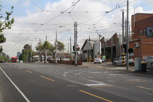 Southern entry to Essendon Depot
