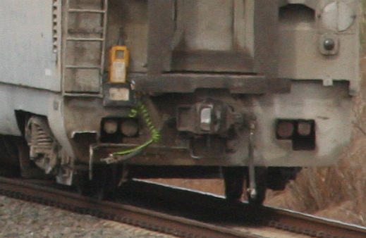 ETAS device for the Western SG, on a GSR Overland service